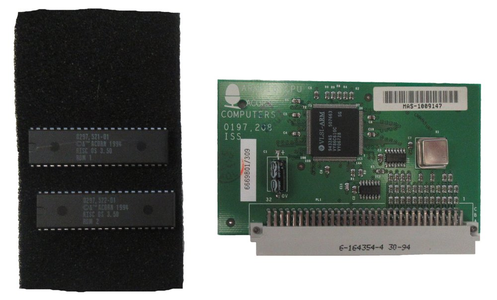 Scan of Document: Acorn ARM610 CPU and Risc OS 3.50 Roms
