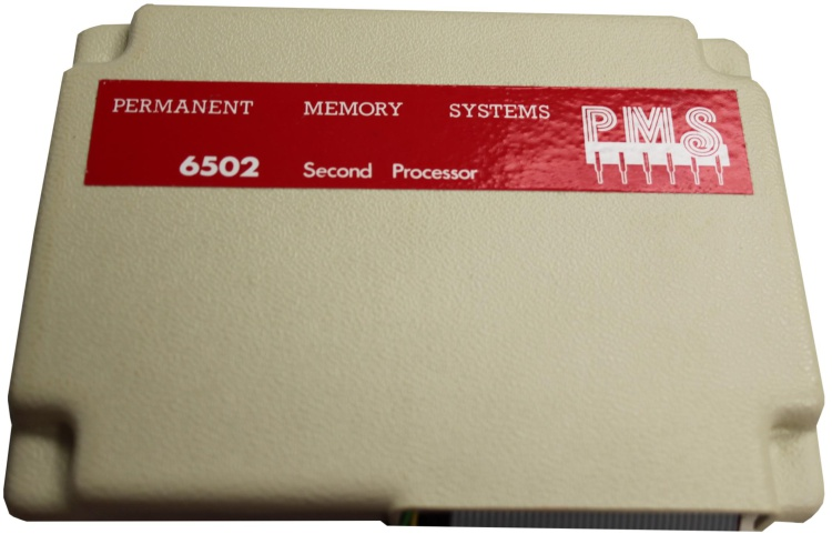 Scan of Document: Permanent Memory Systems 6502 Second Processor