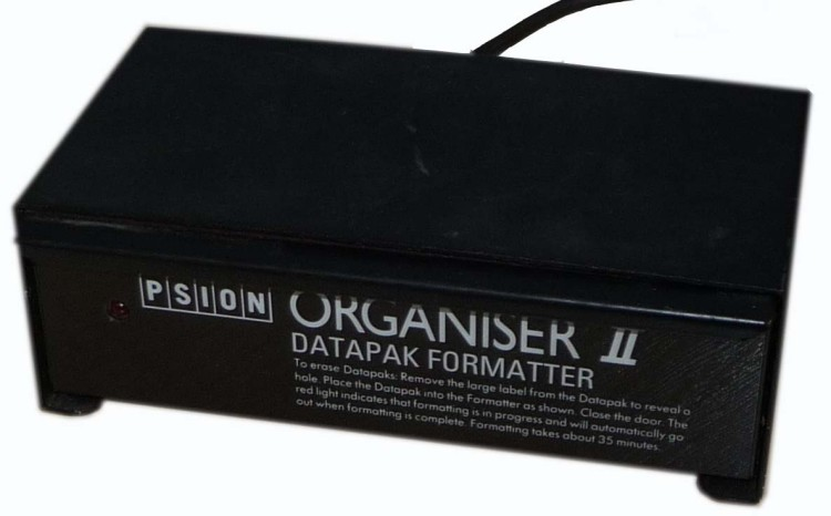 Scan of Document: Psion Organiser II Datapak Formatter