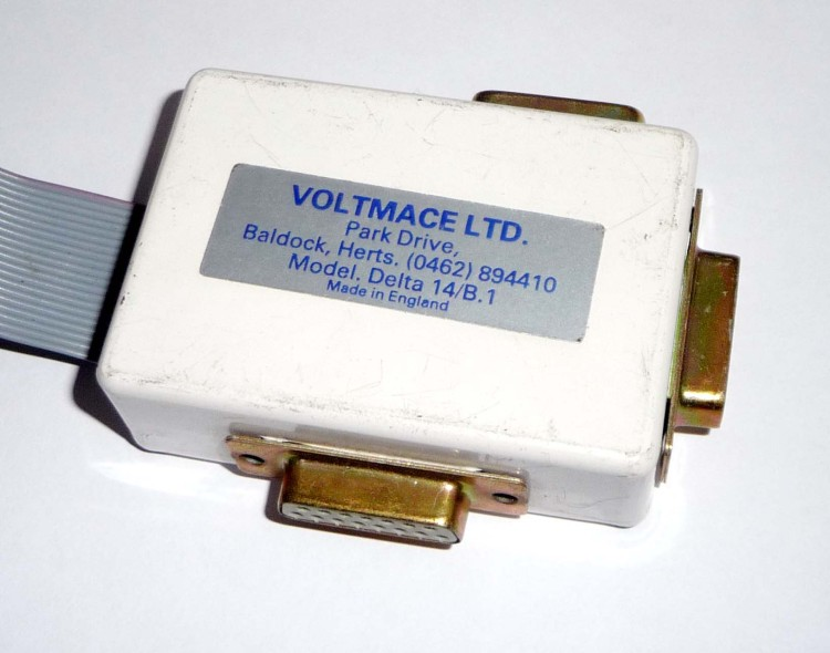Scan of Document: Voltmace Analogue Digital User Port Interface