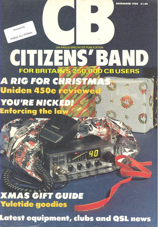 Scan of Document: Citizen's Band December 1988