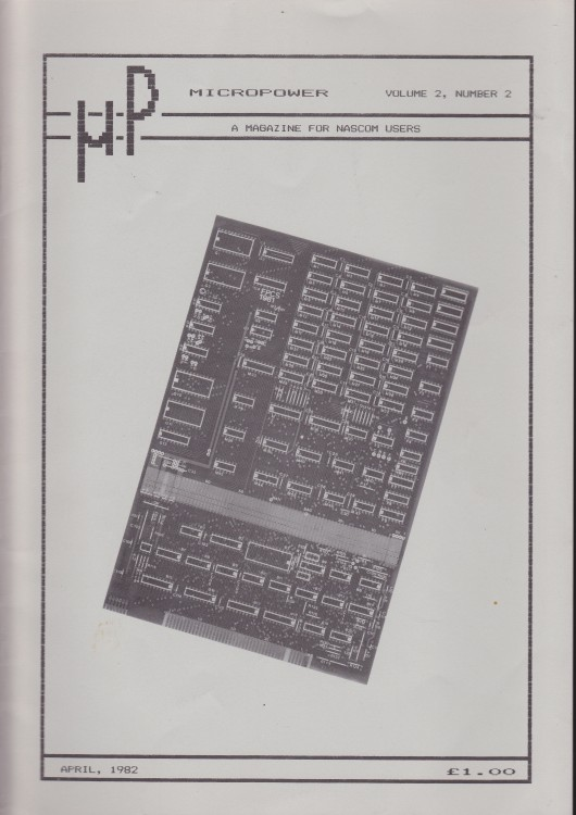 Scan of Document: Micropower - April 1982 - Volume 2 Number 2