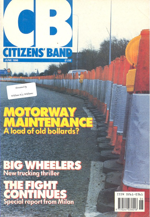 Scan of Document: Citizen's Band June 1990