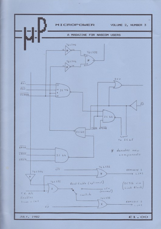 Scan of Document: Micropower - July 1982 - Volume 2 Number 3