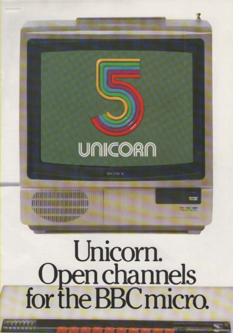 Scan of Document: Torch 5 Unicorn Open Channels for the BBC Micro