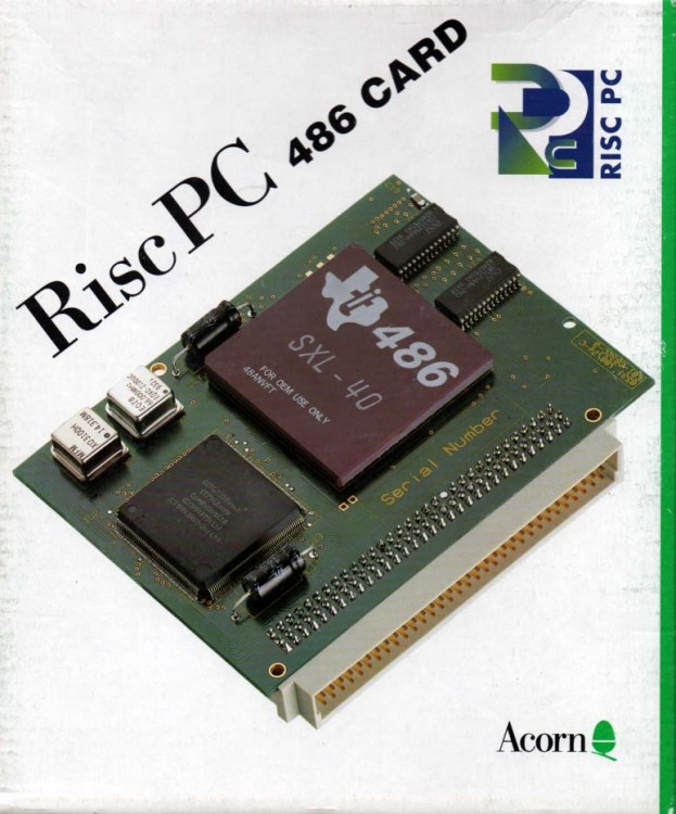 Scan of Document: Risc PC 486 Card