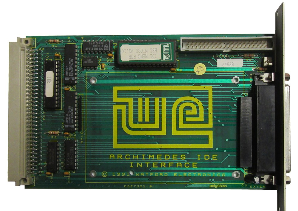 Scan of Document: Watford Electronics IDE Interface