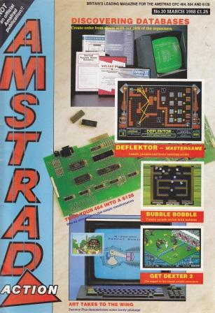 Scan of Document: Amstrad Action March 1988