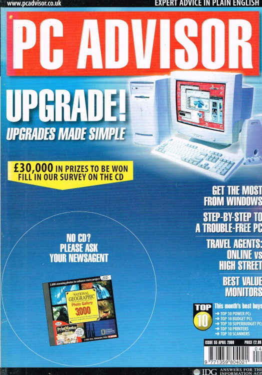 Scan of Document: PC Advisor - April 2000