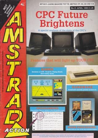 Scan of Document: Amstrad Action April 1988