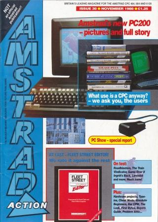 Scan of Document: Amstrad Action November 1988