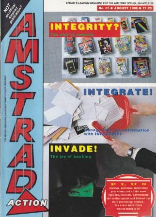 Scan of Document: Amstrad Action August 1988