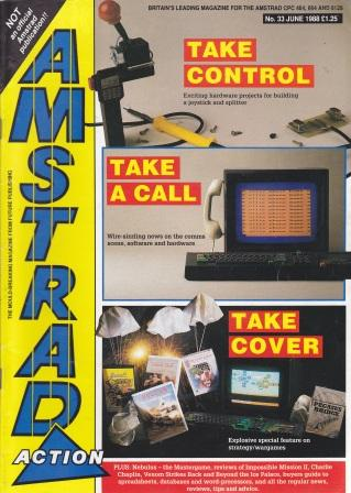 Scan of Document: Amstrad Action June 1988