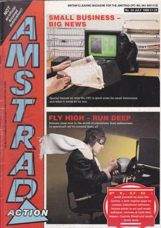 Scan of Document: Amstrad Action July 1988