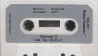 Games II Package Cassette 2