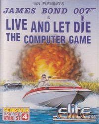 James Bond 007 - Live and Let Die The Computer Game