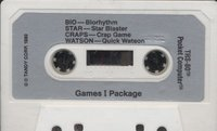 Games I Package Cassette 2