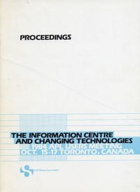 Proceedings: The Information Centre and Changing Technologies: 1984 APL Users Meeting Oct. 15-17 Toronto, Canada