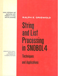 String and List Processing in SNOBOL 4