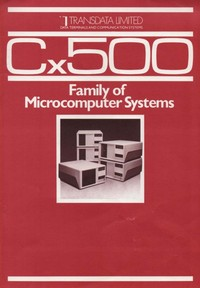 Transdata Cx500 Microcomputer Systems