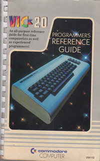 Commodore VIC-20 Programmer's Reference Guide