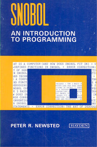 SNOBOL An Introduction to programming
