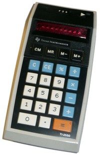TI-2550 Memory Calculator (1st Design)