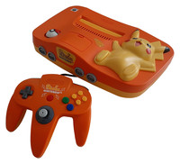 Nintendo 64 Pikachu Edition (Orange)