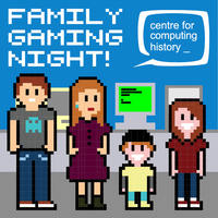 Family Gaming Night - 23 March 2019 (Cambridge Science Festival) SOLD OUT