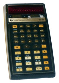 TI-56 Programmable Calculator