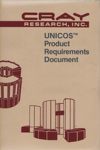 Cray Unicos Product Requirements Document