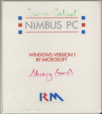 RM Nimbus Windows Version 1 by Microsoft PN 15486