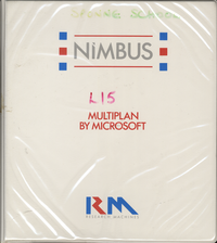 RM Nimbus Multiplan By Microsoft PN14627 (New Style Layout)
