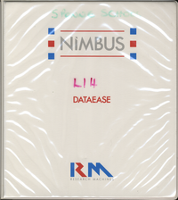 RM Nimbus Dataease V 2.5 Reference Manual PN 19780