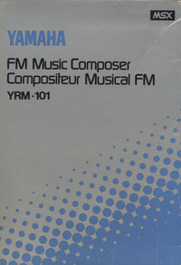 Yamaha FM Voicing Program YRM-101
