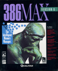 386MAX Version 6 (sealed)