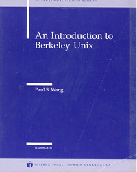 An Intrroduction to Berkely Unix