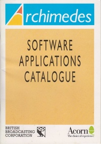 Acorn Archimedes - Software Applications Catalogue