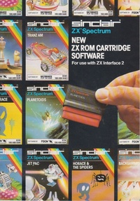 New ZX ROM cartridge Software
