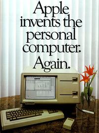 Apple Lisa Launched