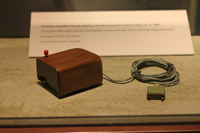 Douglas C. Engelbart publicly demonstrates the mouse