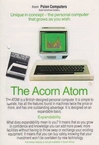 The Acorn Atom from Psion Computer