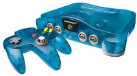 Nintendo 64 - Ice blue