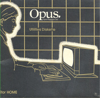 Opus Utilities Diskette