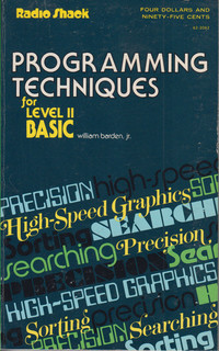 Programming Techniques for Level II BASIC