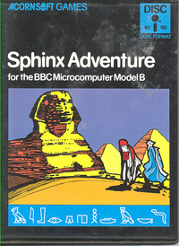 Sphinx Adventure (disk)