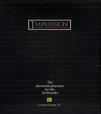 Impression - The document processor for the Archimedes