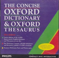 The Concise Oxford Dictionary & Oxford Thesaurus