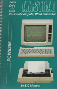 Amstrad PCW 8256 User Guide Book 2