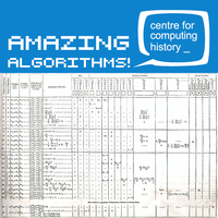 Amazing Algorithms - Tuesday 19th February 2019
